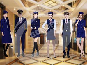 空乘制式系列服装