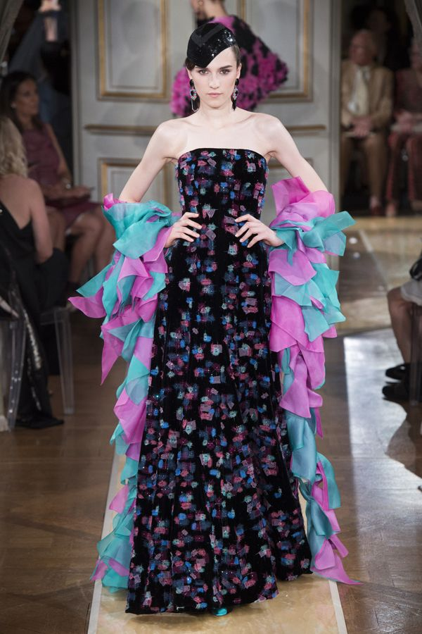 2018秋冬巴黎高定时装周:Giorgio Armani Prive 品牌秀