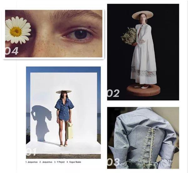 2019春夏女装流行趋势—寻同自然浪漫主义 12